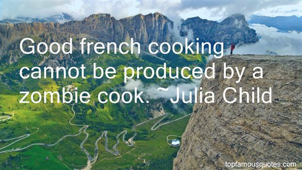 Quotes About French Cooking
