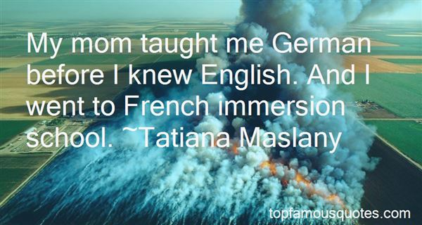 Quotes About French Immersion
