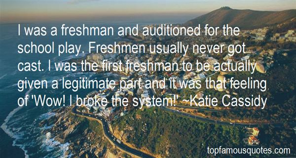Quotes About Freshmen College