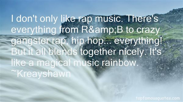 Quotes About Gangster Rap