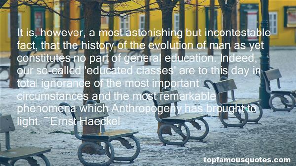 Quotes About General Education Classes