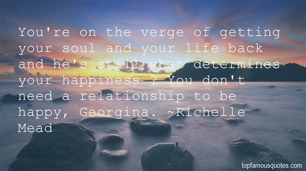 Quotes About Getting Happiness Back