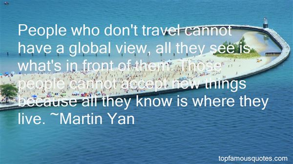 Quotes About Global Travel