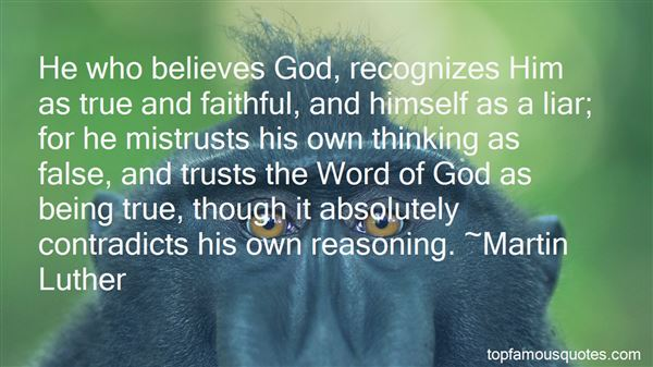 Quotes About God And Faith And Trust