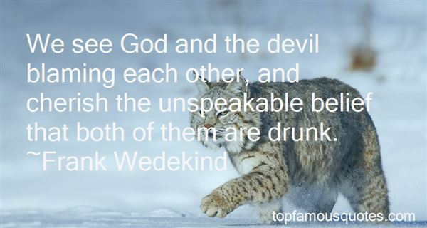 Quotes About God And The Devil