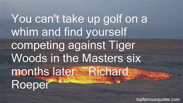 Quotes About Golf Tiger Woods