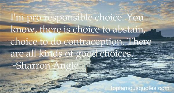 Quotes About Good Choices