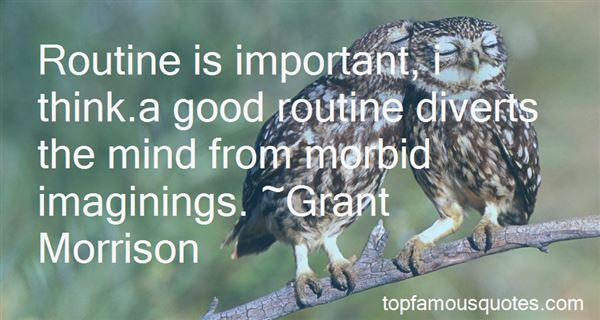 Quotes About Good Routine