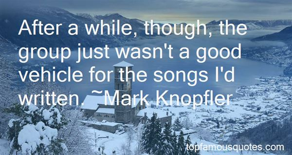 Quotes About Good Songs