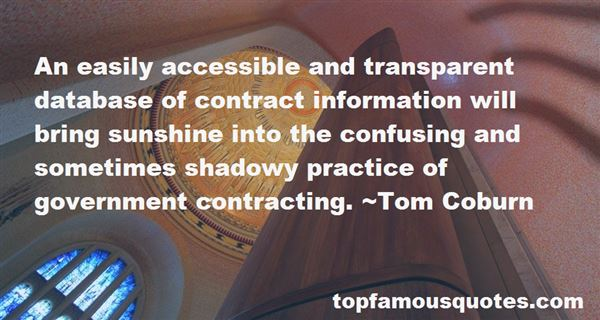 Quotes About Government Contracting