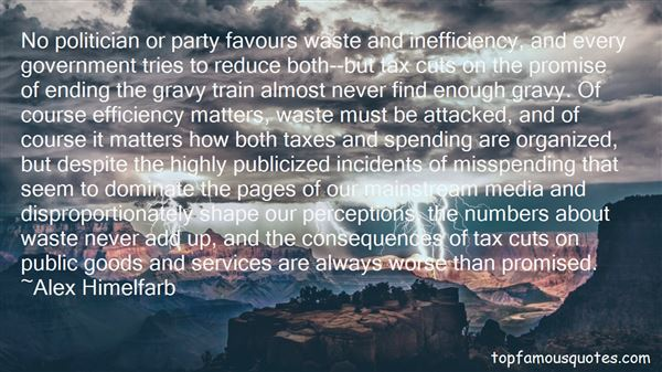 Quotes About Government Efficiency