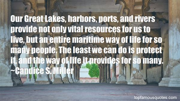 Quotes About Great Lakes