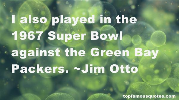 Quotes About Green Bay Packers