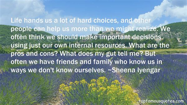Quotes About Gut Decisions