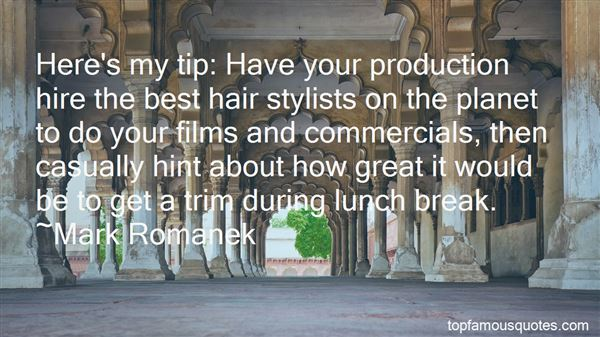 Quotes About Hair Stylists