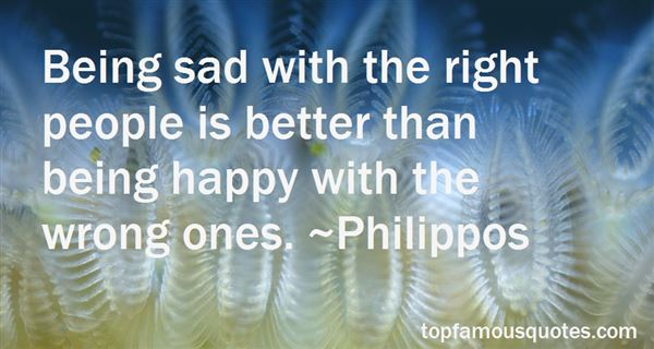 Quotes About Happy People Being Sad