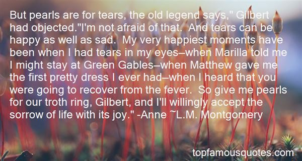 Quotes About Happy Tears