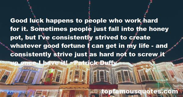 Quotes About Hard Work Not Luck