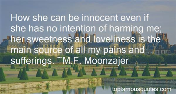 Quotes About Harming The Innocent