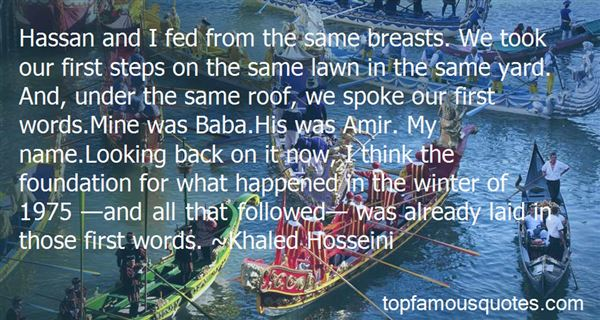 Quotes About Hassan And Baba