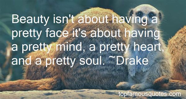 Quotes About Having Pretty Face