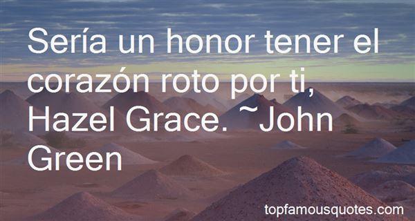Quotes About Hazel Grace