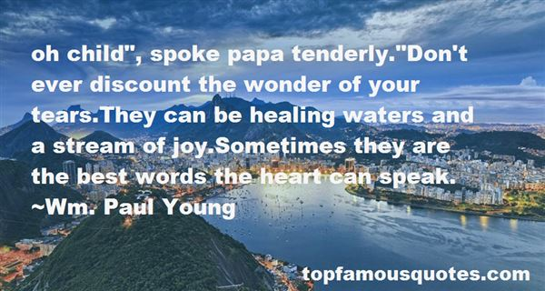 Quotes About Healing Waters