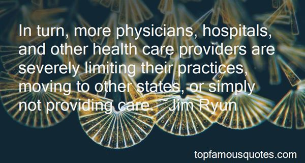 Quotes About Health Care Providers