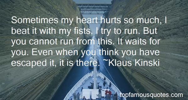 Quotes About Heart Hurts