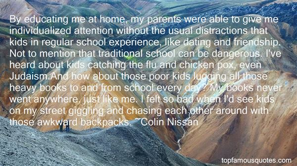 Quotes About Heavy Backpacks