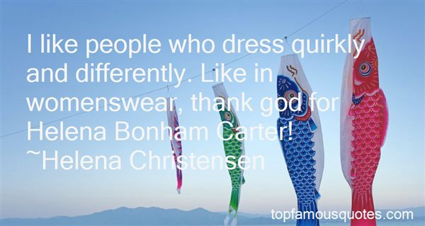 Quotes About Helena Bonham Carter
