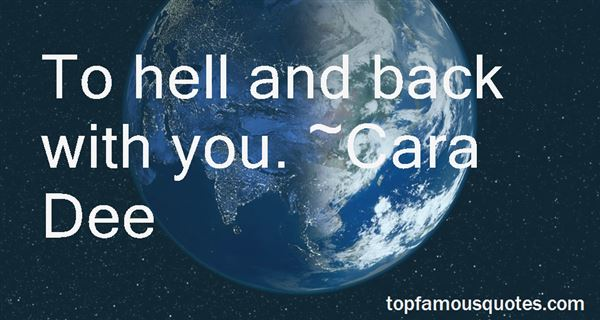 Quotes About Hell And Back