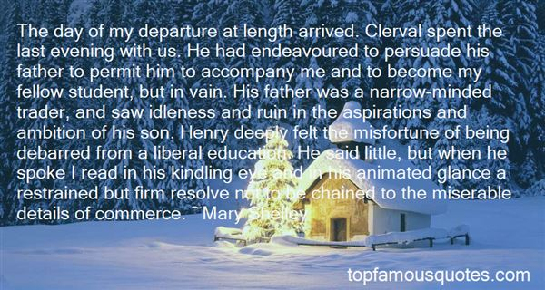 Quotes About Henry Clerval