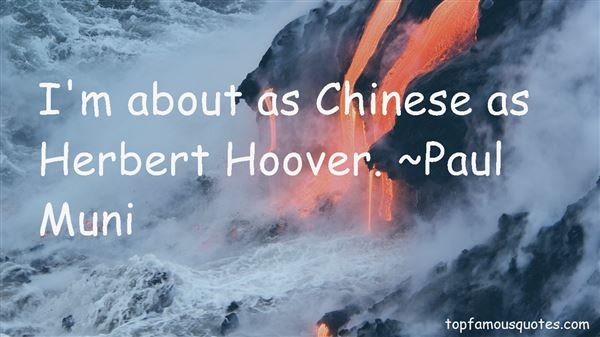 Quotes About Herbert Hoover