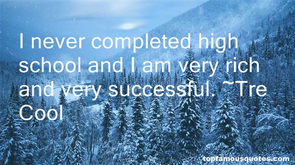 Quotes About High School Success