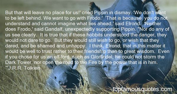 Quotes About Hobbits From Lotr