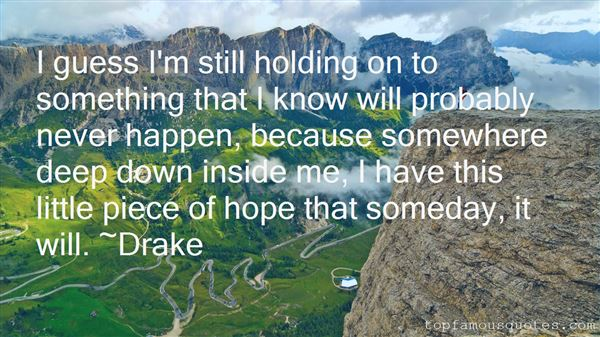 Quotes About Holding On To Hope