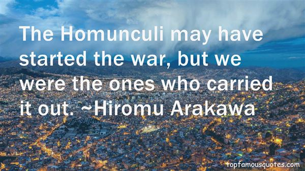 Quotes About Homunculi