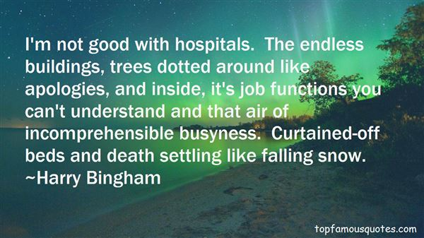 Quotes About Hospital Beds