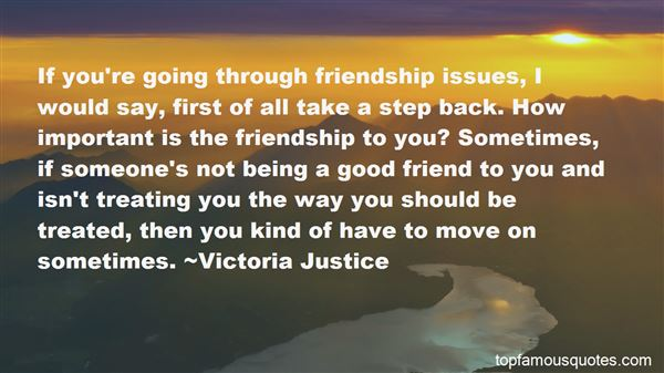Quotes About How Friendship Should Be
