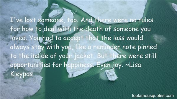 Quotes About How To Deal With Death