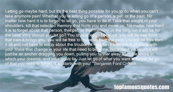 Quotes About How To Move On And Let Go