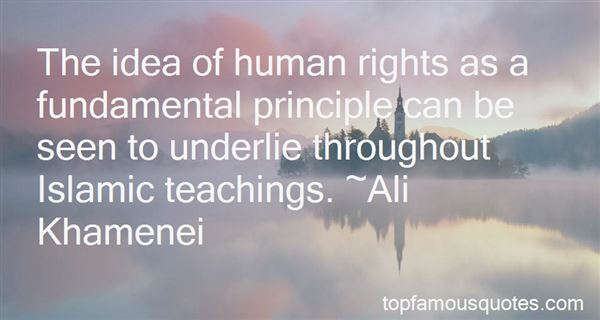 Quotes About Human Rights In Islam