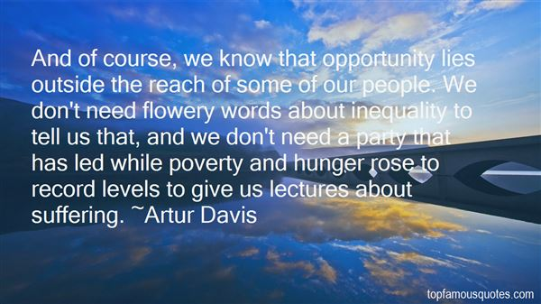 Quotes About Hunger Poverty