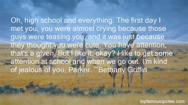 Quotes About I Get Jealous