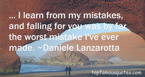 Quotes About I Learn From My Mistakes