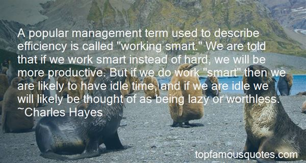 Quotes About Idle Time