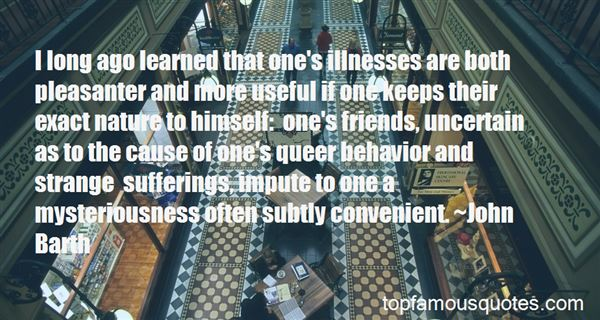 Quotes About Illness And Friends