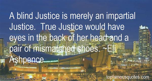 Quotes About Impartial Justice