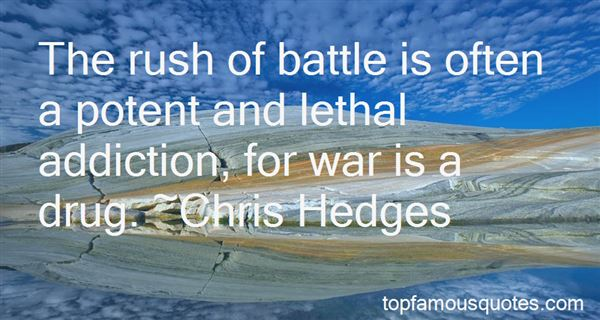Quotes About Impending War